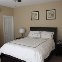 Charleston SC home adding on a bedroom after photo