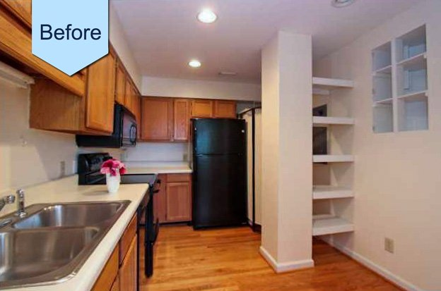 Historic Charleston Townhouse Kitchen Remodeling Project