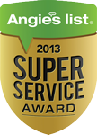 Angie's List Super Service Award 2013 Charleston